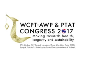 World Congress for Physical Therapy 2017