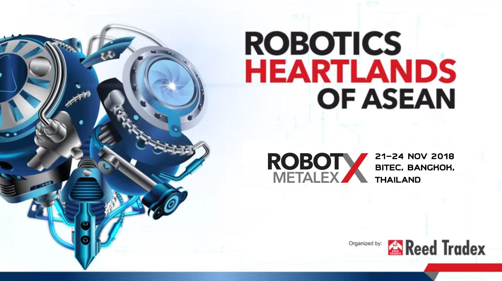 ROBOT X @METALEX 2018