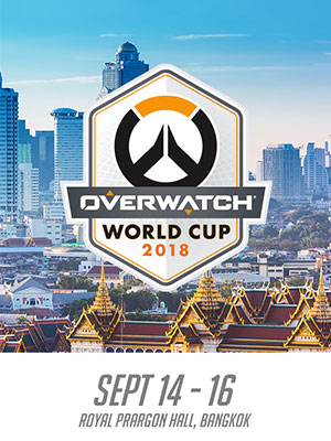 Overwatch World Cup 2018 Bangkok Stage