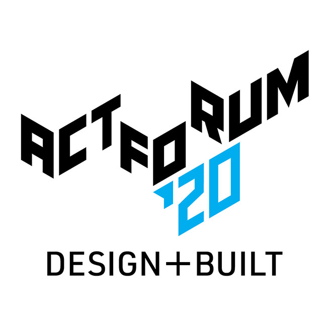 ACT FORUM ´20 DESIGN + BUILT